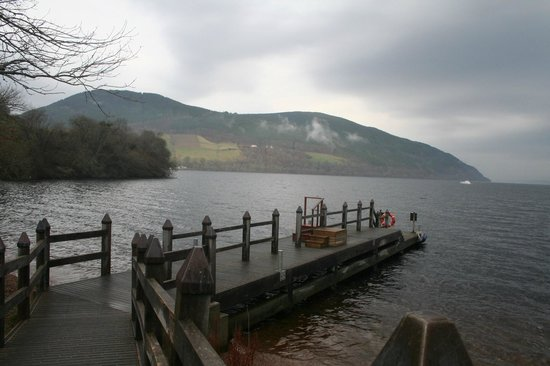 Loch Ness by Jacobite: The jetty where you board