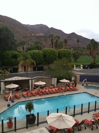 Hyatt Palm Springs: View from our room