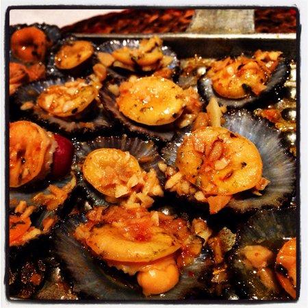Beira Mar São Mateus: Lapas grelhadas, que delícia!