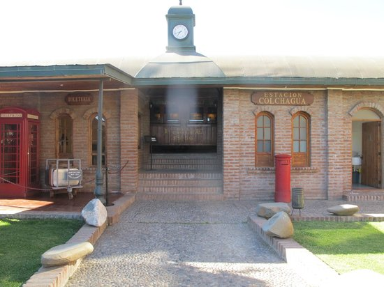 Colchagua Museum : One of the exhibits: train station