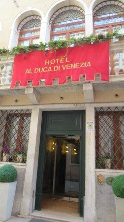 Hotel Al Duca di Venezia: entrata
