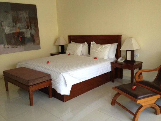 Villa Grasia Resort & Spa: Room 201, clean, mosquitoes-free