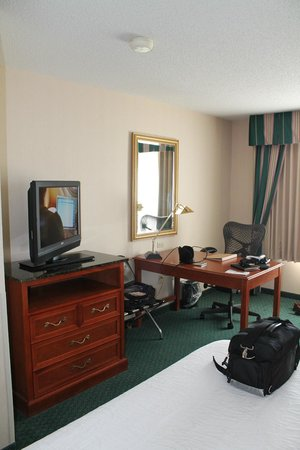Hilton Garden Inn Minneapolis Eagan : Eagan, Hilton Garden Inn, Room #321, Desk