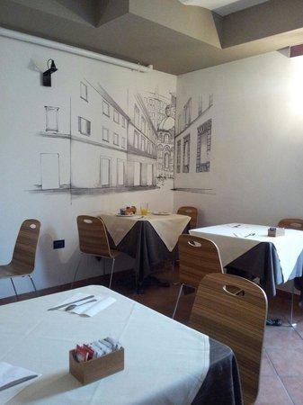 Hotel Ferrucci : ...sala colazione....