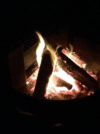 Assateague Island National Seashore: Campfire