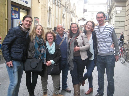 Florence for Foodies : Our new friends!
