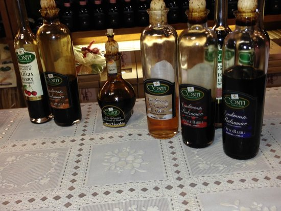 Florence for Foodies : Amazing balsamic vinegars