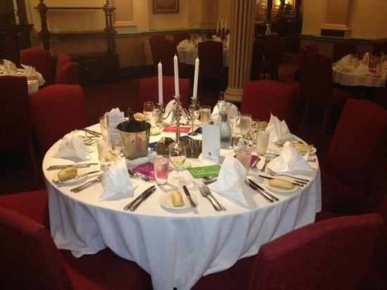 The Carrington Hotel: Table set up by The Carrington