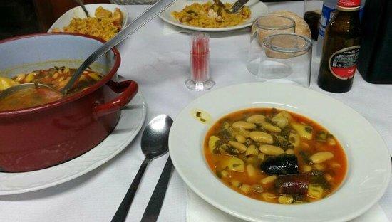 Restaurante Casa Pedro Parres: Comida
