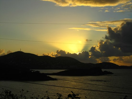 Virgin Islands Campground: Every morning we awoke to this view