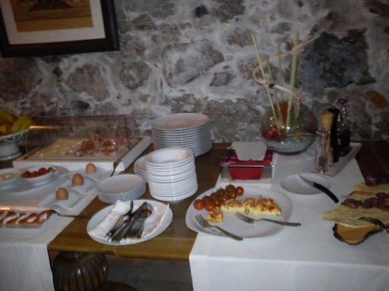 La Locanda del Conte Mameli: petit déjeuner