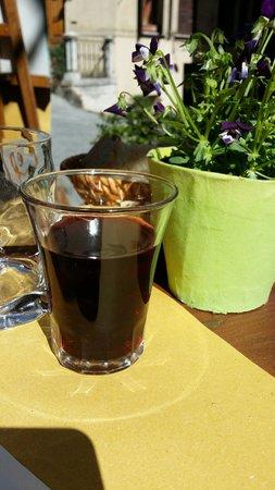 Bar Enoteca Piazza delle Erbe: Il bicchiere fantastico della nonna!