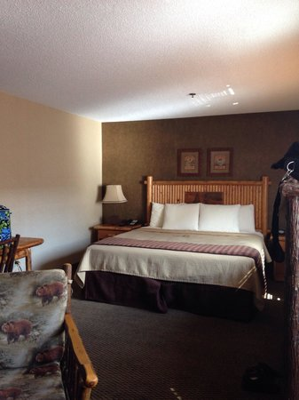 Stoney Creek Inn: King bed in themed suite