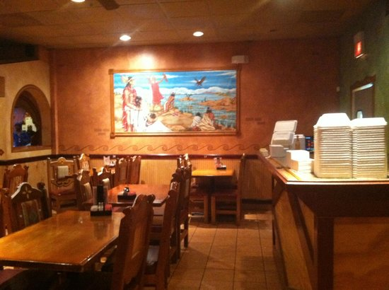 Los Portales Incorporated: artwork adorns the walls