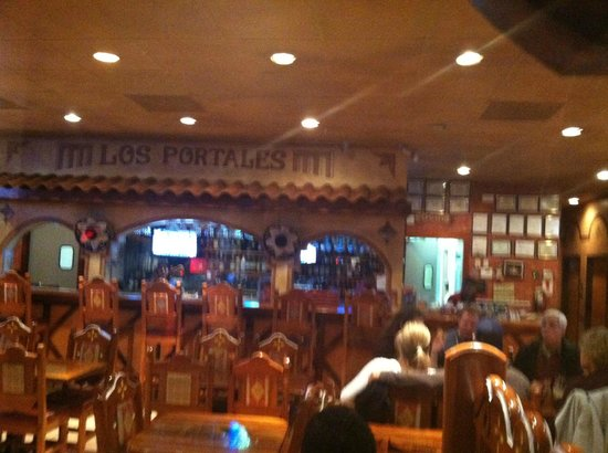 Los Portales Incorporated: seating area