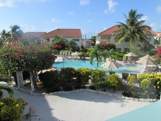 Belizean Shores Resort: View from the balcony