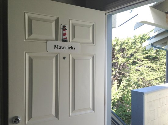 Cypress Inn on Miramar Beach : Front Door to Maverick'ss Room