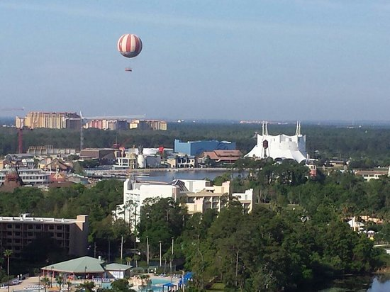 Best Western Lake Buena Vista - Disney Springs Resort Area : Our view