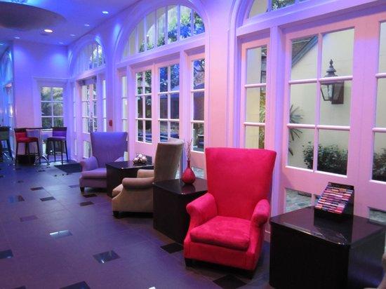 Hotel Le Marais : Lobby area