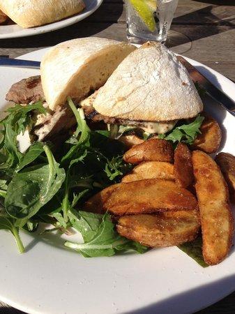 Riva St. Kilda: Steak Sandwich