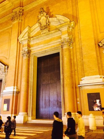 """Grand Hotel Majestic """"Già Baglioni"""": Now that's a door (to the Cathedral do San Pietro opposite the Bagloni)"""