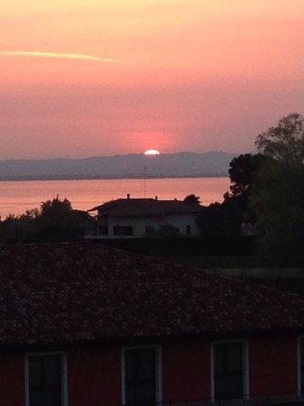 Hotel Parchi del Garda : Vista dalla suite