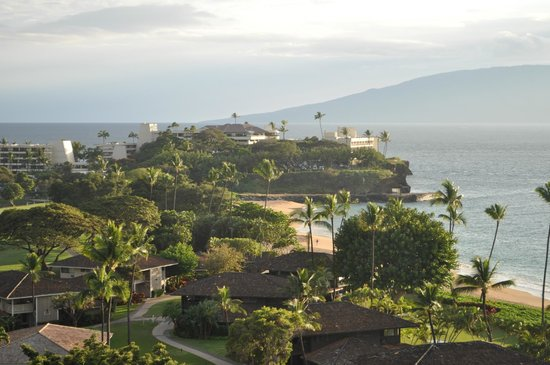 Royal Lahaina Resort: View from partial ocean view