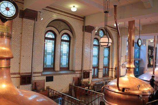 Heineken Experience: Interior Heineken Brewery