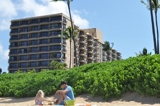Royal Lahaina Resort : View From Beach