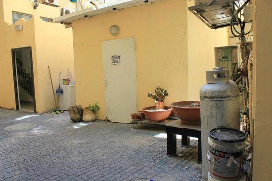 Allenby Bauhaus Apartments : Собственно ресепшен