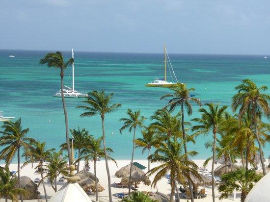 Hotel Riu Palace Aruba: vista desde la habitacion