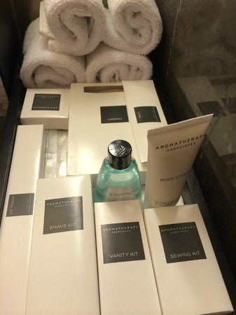 JW Marriott Hotel New Delhi Aerocity : Nice selection of toiletries