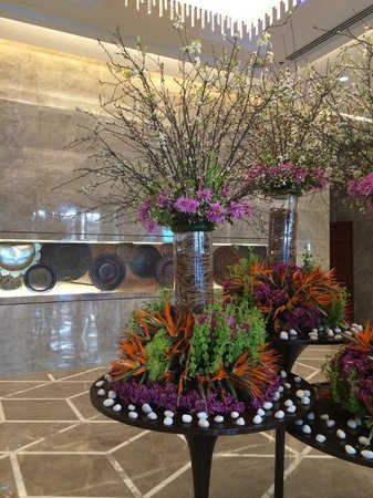 JW Marriott Hotel New Delhi Aerocity : Beautifully designed and decorated hotel