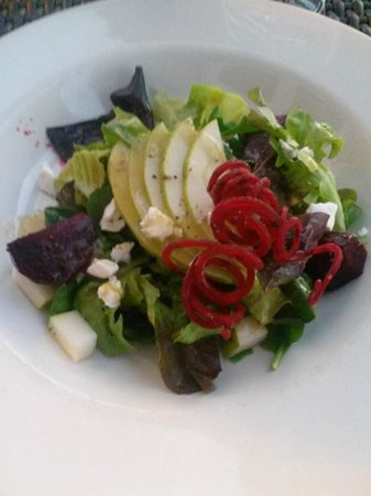 The Lobster Pot : beet pear goat cheese salad