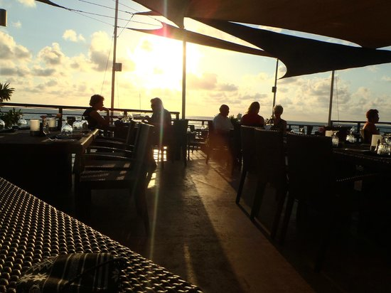 The Lobster Pot : the deck