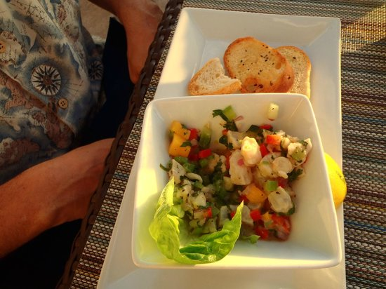 The Lobster Pot : ceviche
