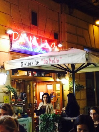 Ristorante da Nello : Da Nello is in a side street off Via Independenza