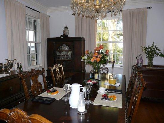 Grand Bayou Noir : Salle à manger