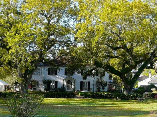 Grand Bayou Noir : Façade de la maison