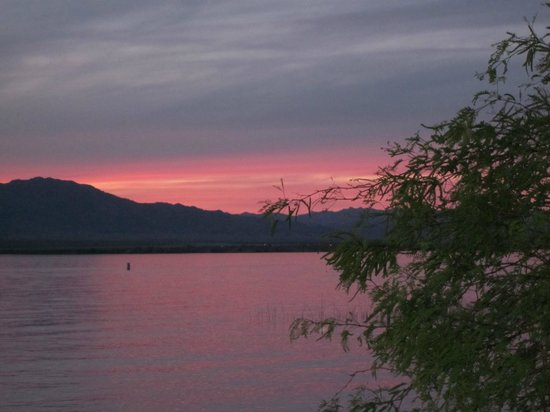 Lake Havasu State Park: Beautiful sunset