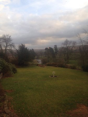 Lovelady Shield Country House Hotel: Lovely view from room 6.