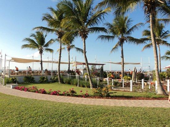 Alexandra Resort: beachfront restaurant