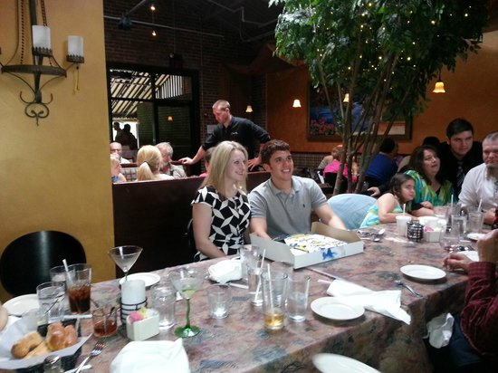 Oliverio's Ristorante: Sydney and Victor--big family dinner at Oliverio's
