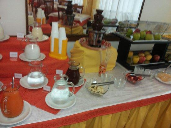 Hotel Stresa: Le bevande e la frutta