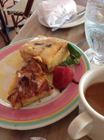 Columbia Restaurant : bread pudding dessert