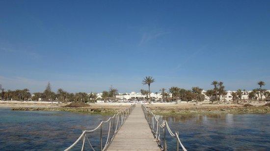 El Mouradi Djerba Menzel: achterkant hotel