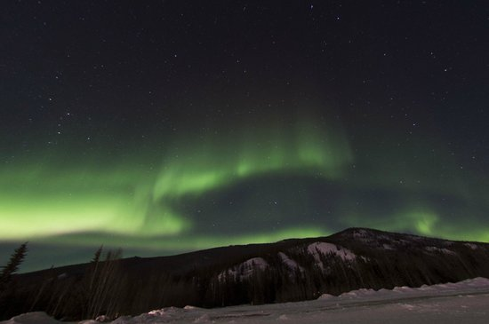 Planet Earth Adventures: Northern Lights from Chena Hot Springs