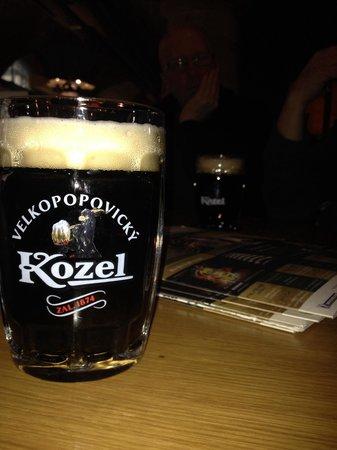 Kolkovna Celnice : En läskande Kozel