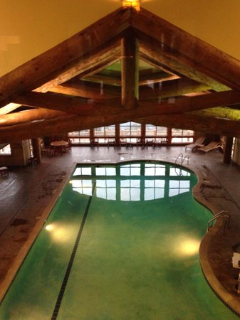 The Lodge at Mount Magazine: Beautiful indoor pool