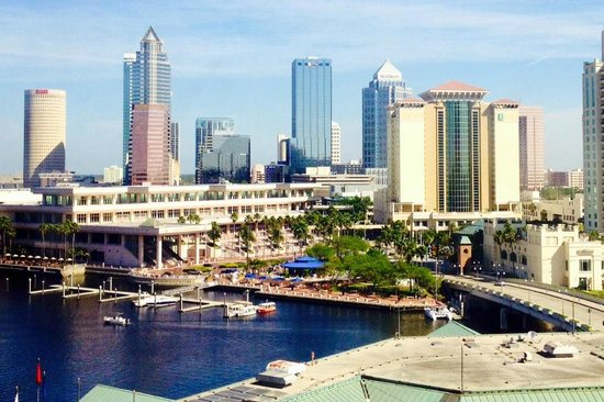 Westin Tampa Harbour Island : View from Room 1001